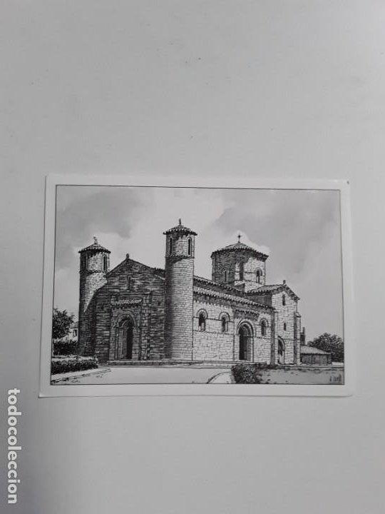 POSTAL FROMISTA IGLESIA DE SAN MARTÍN SIGLO XI PALENCIA (Postales - España - Castilla y León Moderna (desde 1940))