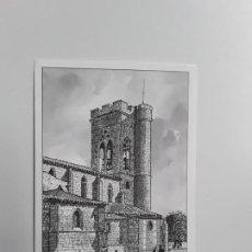 Postales: POSTAL IGLESIA DE SAN MIGUEL SIGLOS XII XV PALENCIA . Lote 194302955