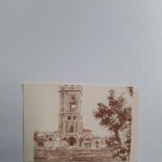 Postales: IMAGEN DE LA CATEDRAL DE SAN MIGUEL PINTADA EN ACUARELA . Lote 194305211