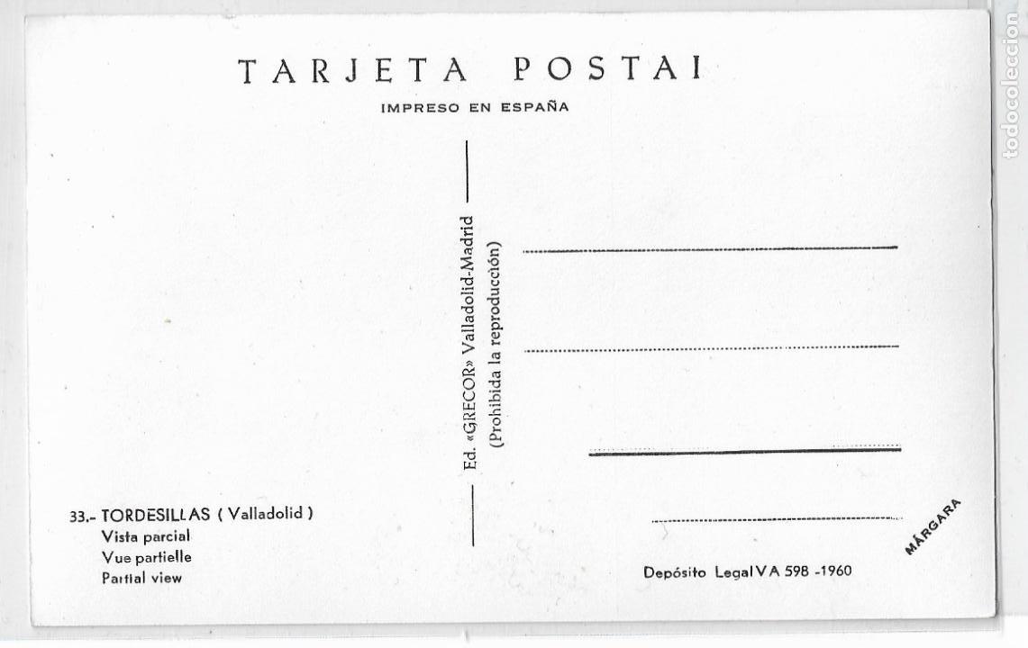 Postales: TORDESILLAS - VISTA PARCIAL - P27122 - Foto 2 - 194489368