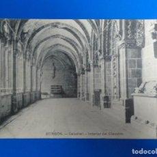 Postales: BURGOS CATEDRAL INTERIOR DEL CLAUSTRO EDIT. E.J.C. PARIS-IRUN. Lote 194526426