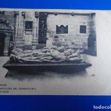 Postales: BURGOS SEPULCRO DEL CONDESTABLE COLECCION D´ASLOC. Lote 194526688