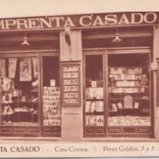 Postales: LEON - IMPRENTA CASADO. Lote 194650196