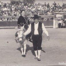 Postales: BERNARDOS (SEGOVIA) - PASEO POR LA PLAZA DE TOROS. Lote 194650572