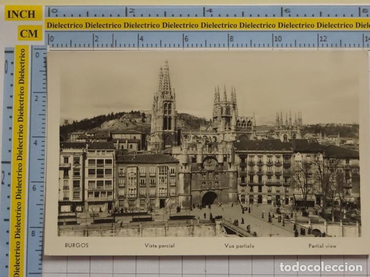 POSTAL DE BURGOS. AÑOS 30 50. VISTA PARCIAL MANIPEL. 23 (Postales - España - Castilla y León Antigua (hasta 1939))