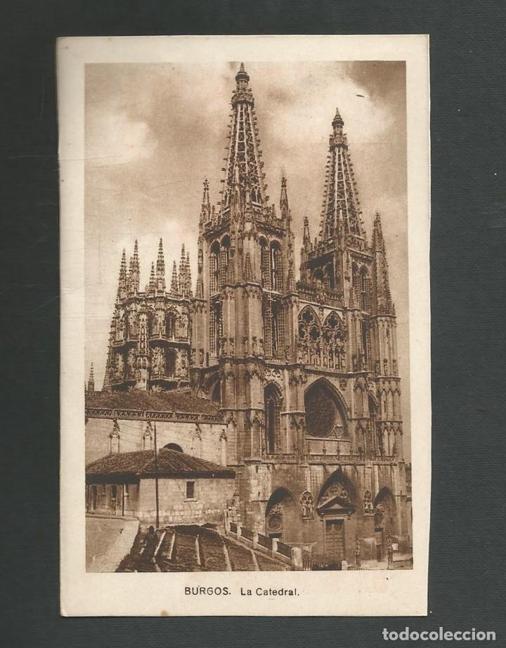 POSTAL SIN CIRCULAR - BURGOS - LA CATEDRAL - EDITA ARRIBAS (Postales - España - Castilla y León Antigua (hasta 1939))