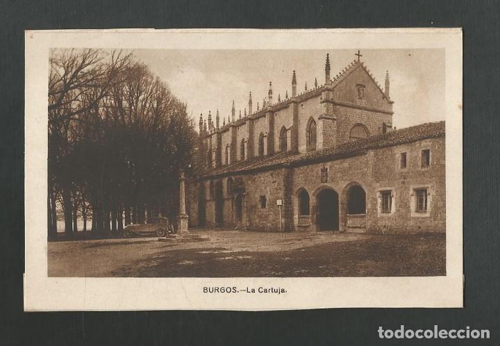 POSTAL SIN CIRCULAR - BURGOS - LA CARTUJA - EDITA ARRIBAS (Postales - España - Castilla y León Antigua (hasta 1939))