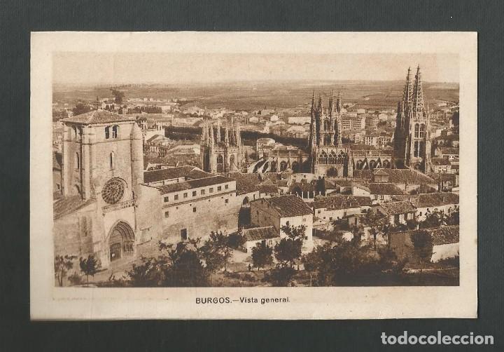 POSTAL SIN CIRCULAR - BURGOS - VISTA GENERAL - EDITA ARRIBAS - POSTAL SIN DIVIDIR (Postales - España - Castilla y León Antigua (hasta 1939))