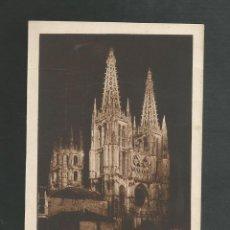 Postales: POSTAL SIN CIRCULAR - BURGOS - LA CATEDRAL ILUMINADA - EDITA ARRIBAS. Lote 194780933
