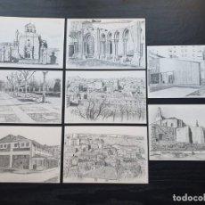 Postales: SERIE DE 8 POSTALES DE SORIA. Lote 194862445