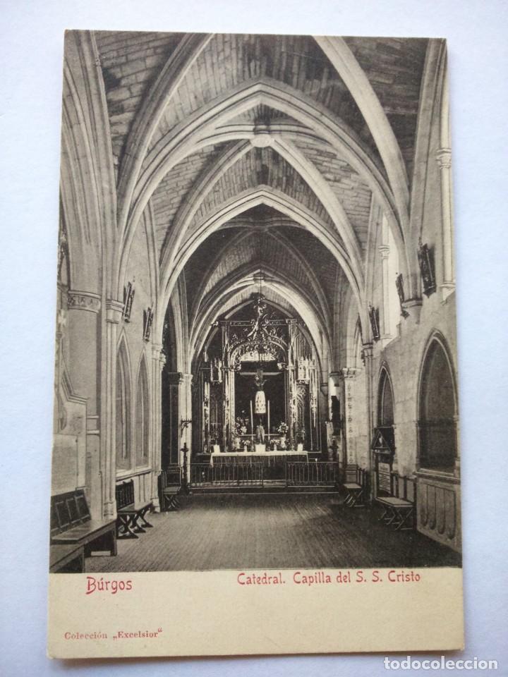 POSTAL -- BURGOS - CATEDRAL. CAPILLA DEL S. S. CRISTO -- SIN USO -- (Postales - España - Castilla y León Moderna (desde 1940))