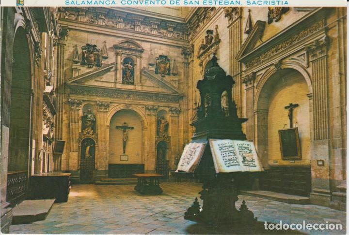 (130) SALAMANCA. CONVENTO DE SAN ESTEBAN. SACRISTIA ... SIN CIRCULAR (Postales - España - Castilla y León Moderna (desde 1940))