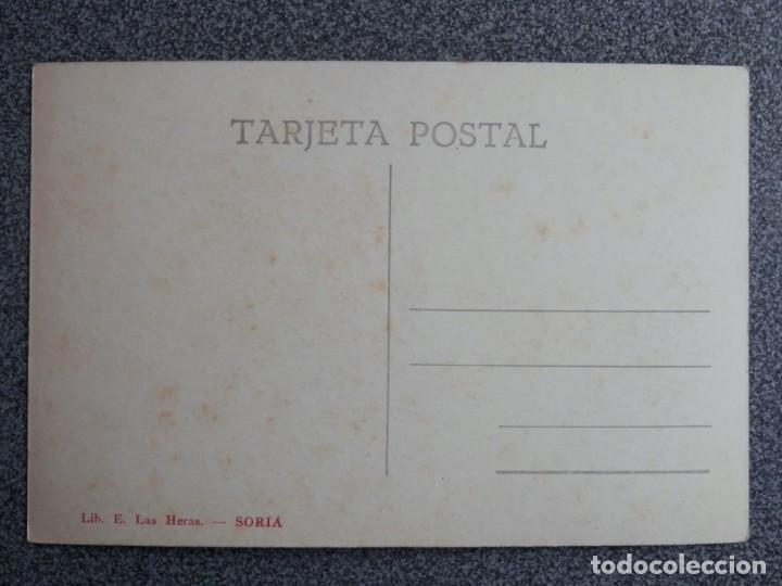 Postales: SORIA CLAUSTRO DE SAN JUAN DE DUERO POSTAL FOTOGRÁFICA ANTIGUA LIB. E. LAS HERAS - Foto 2 - 194903556