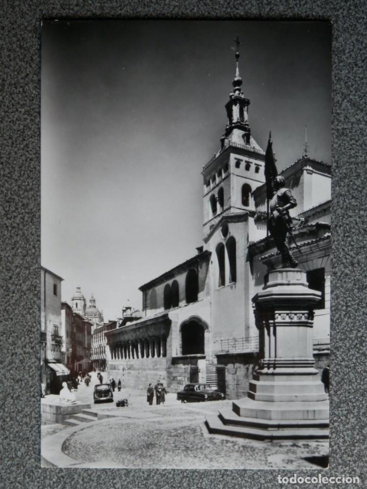 Postales: SEGOVIA LOTE DE 6 POSTALES ANTIGUAS CASI TODAS FOTOGRÁFICAS - Foto 3 - 194942448