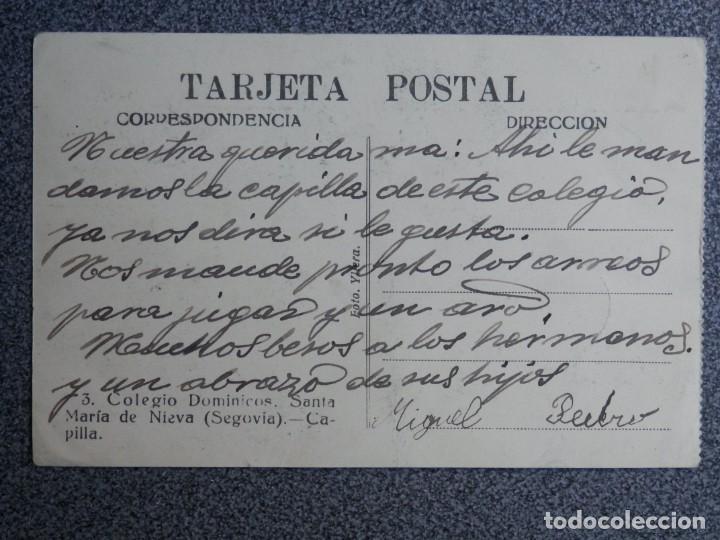 Postales: SEGOVIA LOTE DE 6 POSTALES ANTIGUAS CASI TODAS FOTOGRÁFICAS - Foto 8 - 194942448