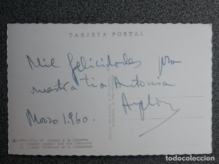 Postales: SEGOVIA LOTE DE 6 POSTALES ANTIGUAS CASI TODAS FOTOGRÁFICAS - Foto 10 - 194942448