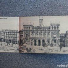 Postales: POSTAL TRIPLE VALLADOLID PLAZA MAYOR POSTAL ANTIGUA MUY RARA. Lote 194942913