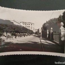 Postales: INTERESANTE POSTAL DE SORIA CAPITAL. PASEO GENERAL YAGÜE Y ALAMEDA DE CERVANTES. (ESPOLÓN). Lote 194964970
