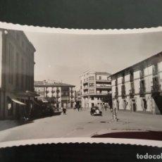 Postales: INTERESANTE POSTAL DE SORIA CAPITAL. AVENIDA DE NAVARRA. CINE AVENIDA Y HOTEL COMERCIO. Nº 18.. Lote 194965151