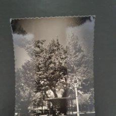 Postales: INTERESANTE POSTAL DE SORIA CAPITAL. ALAMEDA DE CERVANTES. EL ÁRBOL DE LA MÚSICA. Lote 194965698