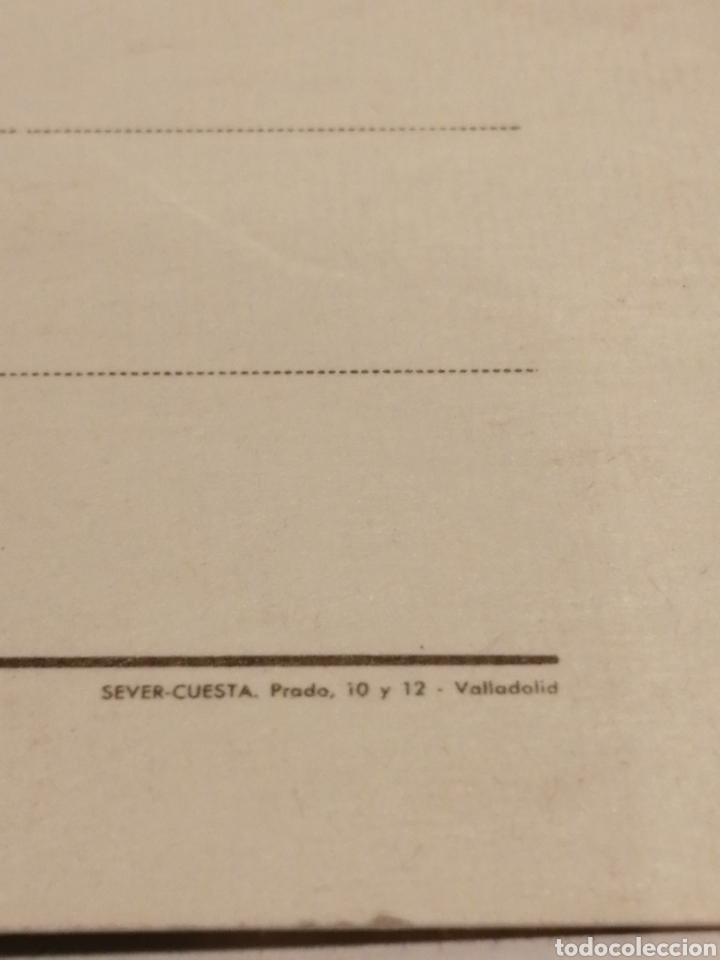 Postales: 19 SEMANA INTERNACIONAL DE CINE DE VALLADOLID. MAYO, 1974. POSTAL DEL CINE AVENIDA. SEVER CUESTA. - Foto 4 - 195002487