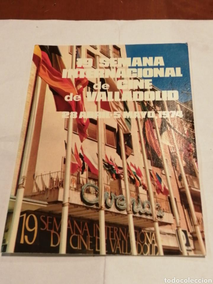 19 SEMANA INTERNACIONAL DE CINE DE VALLADOLID. MAYO, 1974. POSTAL DEL CINE AVENIDA. SEVER CUESTA. (Postales - España - Castilla y León Moderna (desde 1940))