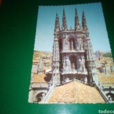 Postales: ANTIGUA POSTAL DE BURGOS. CATEDRAL . AÑOS 60. Lote 195015558
