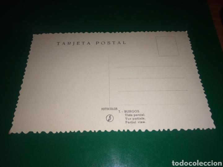 Postales: Antigua postal de Burgos. Vista parcial. Años 50 - Foto 2 - 195020967
