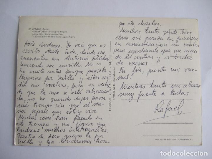 Postales: POSTAL SORIA - VINUESA - PICOS DE URBION RIO LAGUNA NEGRA - 1970 -VISTABELLA 27-ESCRITA SIN CIRCULAR - Foto 2 - 195034098