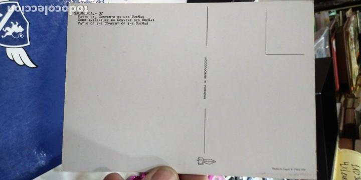 Postales: Postal Salamanca Patio del Convento de las Dueñas N 37 PERGAMINO - Foto 2 - 195035163