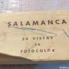Postales: ACORDEON DE MINI POSTALES A COLOR DE SALAMANCA. Lote 195048711