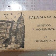 Postales: ACORDEON DE MINI POSTALES BLANCO Y NEGRO DE SALAMANCA. Lote 195048876
