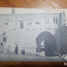 Postales: LEON ARCO DE LA CATEDRAL. TARJETA POSTAL NO CIRCULADA. FOTOGRAFÍA THOMAS BARCELONA.. Lote 195054247