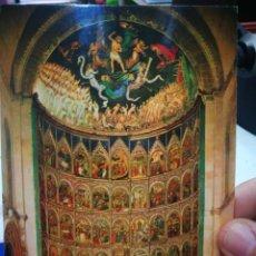 Postales: POSTAL SALAMANCA CATEDRAL VIEJA RETABLO DEL ALTAR MAYOR N 4211 GERMAN ESPERON S/C. Lote 195086593