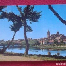 Postales: POSTAL Nº 21 SALAMANCA RÍO TORMES Y LAS CATEDRALES RIVER GARCÍA GARRABELLA, NO ESCRITA NI CIRCULADA. Lote 195086847
