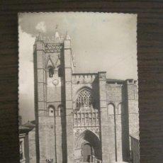 Postales: AVILA-FACHADA PRINCIPAL DE LA CATEDRAL-ED·GARCIA GARRABELLA-20-POSTAL ANTIGUA-VER FOTOS-(68.060). Lote 195129260