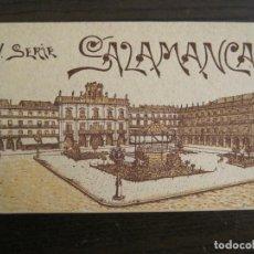 Postales: SALAMANCA-II SERIE-BLOC CON 10 POSTALES FOTOGRAFICAS-HAE-VER FOTOS-(68.023). Lote 195146636