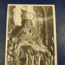 Postales: POSTAL FOTIGRAFICA. NUESTRA SEÑORA DE LAS ANGUSTIAS QUE SE VENERA EN LA CATEDRAL DE SALAMANCA GOMBAU. Lote 195211648
