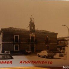Postales: VALLADOLID, SERRADA. FOTO ORIGINAL AÑOS 70. Lote 195239836