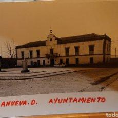 Postales: VALLADOLID, VILLANUEVA DE DUERO. FOTO ORIGINAL AÑOS 70. Lote 195239993