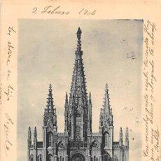 Postales: BASÍLICA SANTA TERESA EN ALBA DE TORMES.- FACHADA PRINCIPAL. Lote 195261368