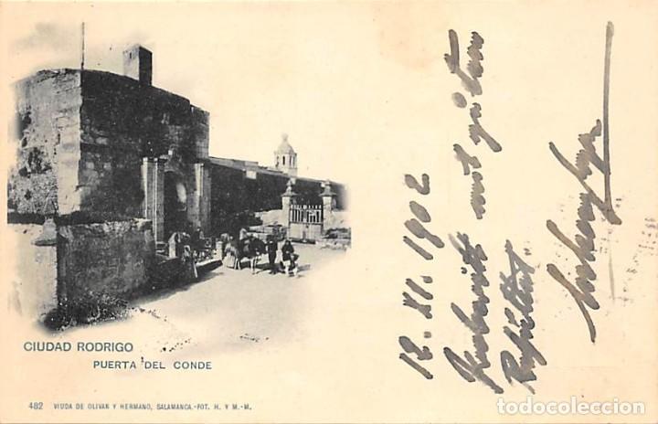 CIUDAD RODRIGO.- PUERTA DEL CONDE (Postales - España - Castilla y León Antigua (hasta 1939))
