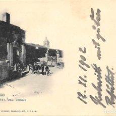 Postales: CIUDAD RODRIGO.- PUERTA DEL CONDE. Lote 195261830