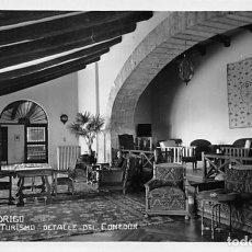 Postales: CIUDAD RODRIGO.- HOTEL DEL TURISMO DETALLE DEL COMEDOR. Lote 195261878