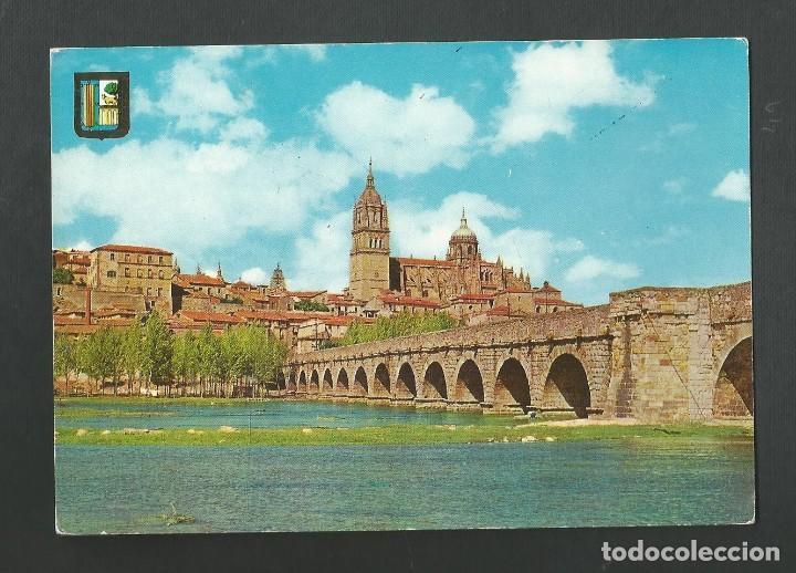 POSTAL CIRCULADA - SALAMANCA 4 - VISTA PARCIAL - EDITA DOMINGUEZ (Postales - España - Castilla y León Moderna (desde 1940))