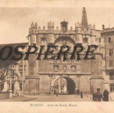 Postales: POSTAL, BURDOS, ARCO DE SANTA MARIA, ED. ARRIBAS, SIN CIRCULAR. Lote 195381887