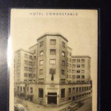 Postales: BURGOS, PUBLICITARIA DEL HOTEL CONDESTABLE. F. MESAS BILBAO. Lote 195403468