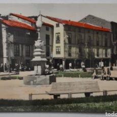 Postales: 51.- CERVERA DE PISUERGA. PLAZA DE BARRIO Y MIER.. Lote 195424853