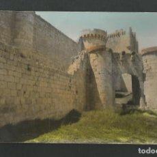 Postales: POSTAL SIN CIRCULAR - PEÑAFIEL 15 - VALLADOLID - MURALLAS DEL CASTILLO - EDITA PARIS. Lote 195430777