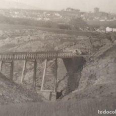Postales: POSTAL DE SORIA, PUENTE DE HIERRO. AÑO 1908. Lote 195436580